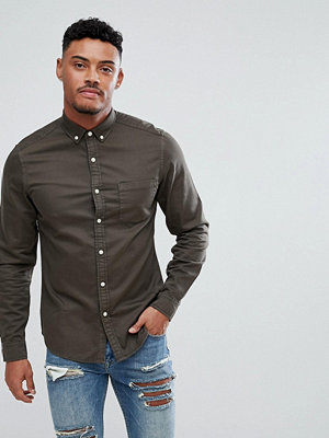 ASOS Stretch Slim Denim Shirt
