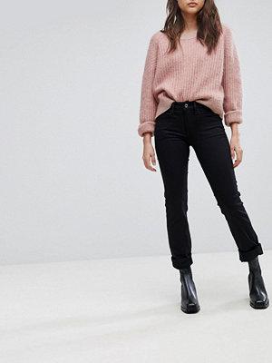 G-Star 3301 Dekonstruerade jeans med mellanhög midja och rakben Rinsed