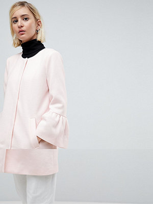 Only Jacket With Flute Sleeves - Rose quarts