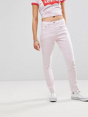 Levi's 501 Skinny jeans med hög midja Acid iced lilac