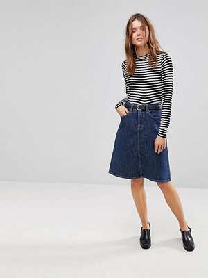 Levi's A Line Midi Skirt - Everything is indigo