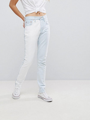 Levi's Altered 501 Jeans med hög midja Two faced