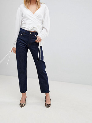 ASOS FLORENCE Authentic Straight Leg Jeans In Clean Indigo - Indigo