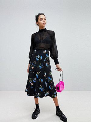 Sportmax Code Midi Skirt in Floral Print