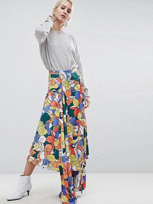 ASOS White Floral Co-ord Skirt
