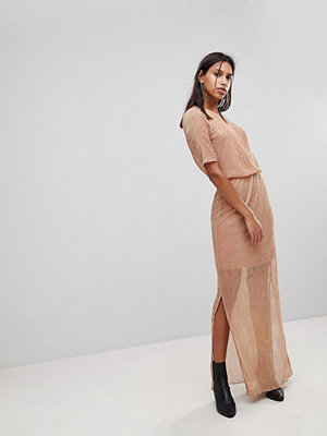 Y.a.s Twinkle Ezra Maxi Dress - Blush