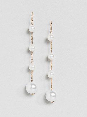 Warehouse örhängen Pearl Orb Drop Earrings