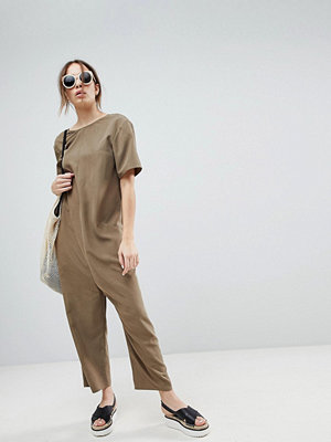 ASOS Minimal Jumpsuit with Dropped Crotch