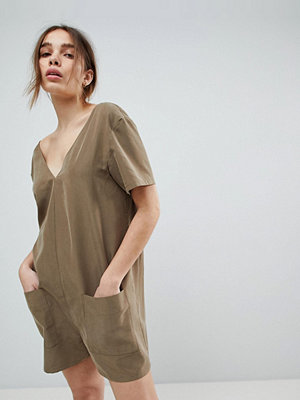 ASOS Minimal Playsuit with Pockets
