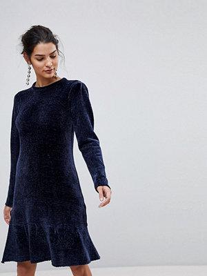 Y.a.s Chenille Ruffle Drop Hem Dress