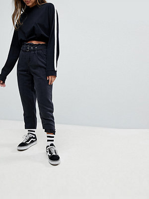 Noisy May Paper Bag Waisted Jean