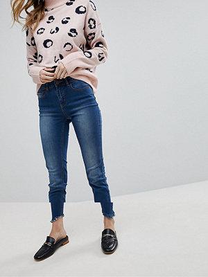 Pieces Beskurna skinny jeans med medelhög midja - Jeans online ... 44caf4d7a4b2e