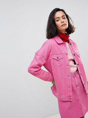 Vero Moda Oversized Coloured Denim Jacket