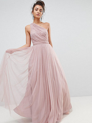 Asos Tall PREMIUM Tulle One Shoulder Maxi Dress