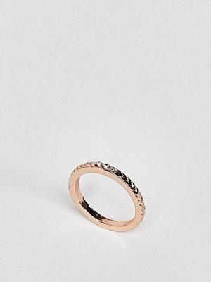 ASOS Pretty Stone and Chevron Detail Thumb Ring