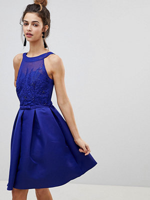 Little Mistress Applique Prom Dress