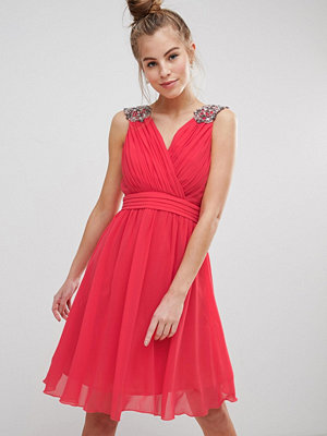 Little Mistress Chiffon Prom Dress Wand Jewel Embellished Straps