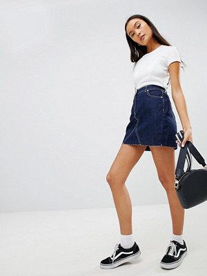 Parisian Denim Skirt - Indigo