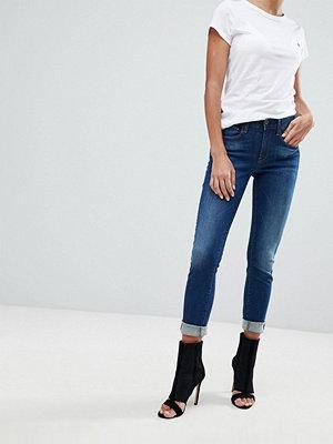 G-Star 3301 D Ankellånga jeans med extra smal passform Medium aged
