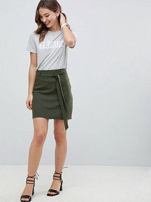 ASOS DESIGN Tailored Obi Tie Mini Skirt