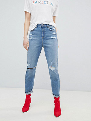 Miss Selfridge High Waist Slim Leg Jeans