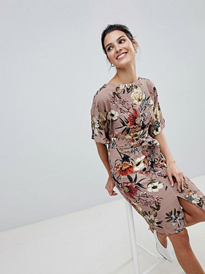 Closet London Closet Mid Split Dress