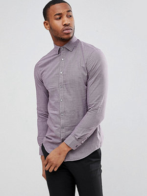 Calvin Klein Slim Fit Mini Houndstooth Shirt