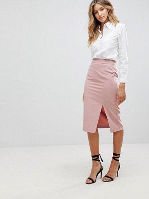 ASOS Mix & Match High Waisted Pencil Skirt With Split