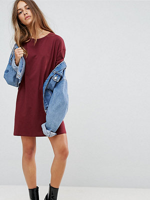 ASOS Petite Ultimate T-Shirt Dress with Rolled Sleeves