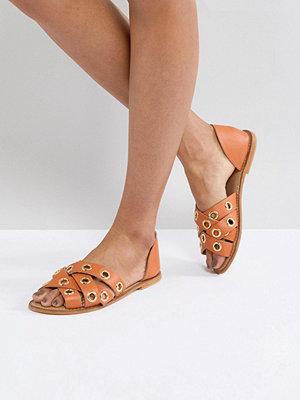 ASOS JUSTIFY Leather Summer Shoes