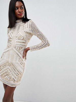 ASOS Edition Armour Embellished Bodycon Dress