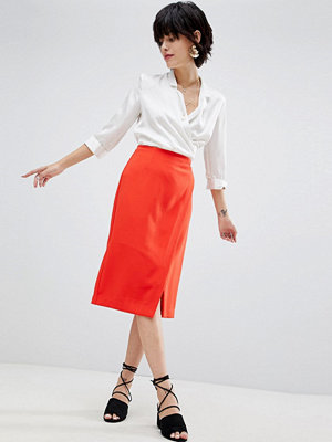 Warehouse Wrap Pencil Skirt