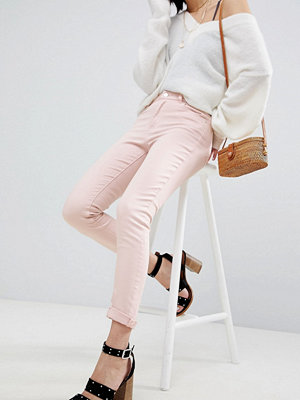 Warehouse Light Pink Skinny Jeans - Light pink