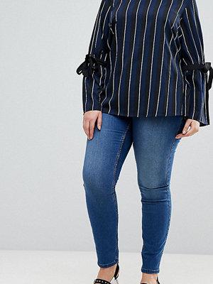 Junarose Slim Jeans - Medium blue