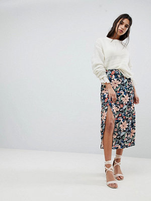 Lily and Lionel Midi Skirt with Side Split