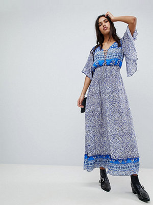 Lily and Lionel Printed Marlowe Maxi Dress - Santorini print