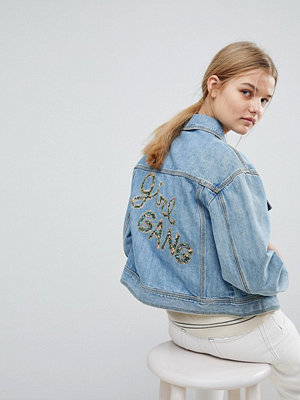 Max & Co Max&Co Girl Gang Denim Jacket