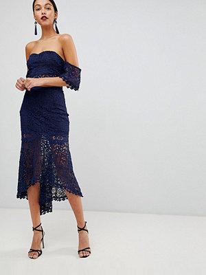Club L Virkat dip hem kjol