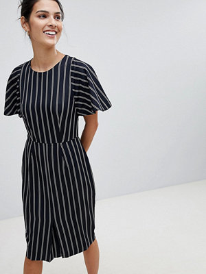 Closet London Closet Striped Pencil Dress