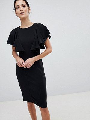 Closet London Closet Dress With Frill Detail