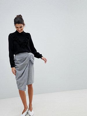 Closet London Closet Wrap And Bow Skirt