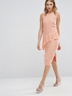 Warehouse Frill Front Dress