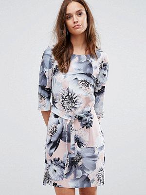 Selected Printed 3/4 Dress - Flower print