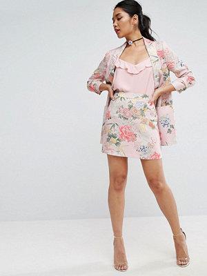 ASOS Mix & Match Floral Bloom Mini Skirt