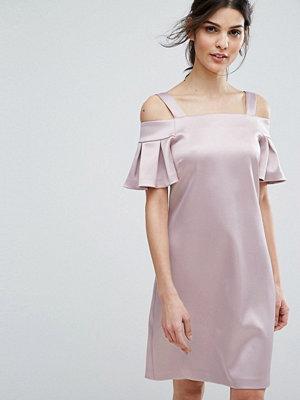 Closet London Cold Shoulder Mini Dress