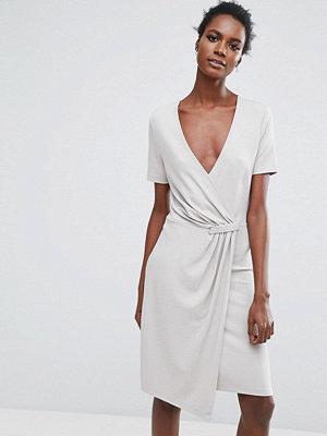 Selected Twist Dress - Dove