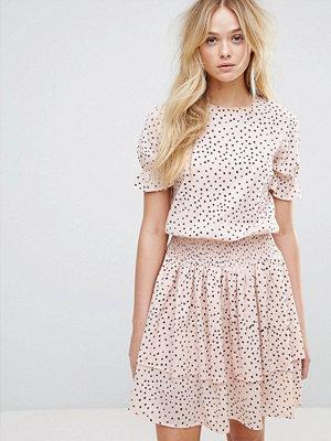 Y.a.s Polka Dot Ruffle Dress