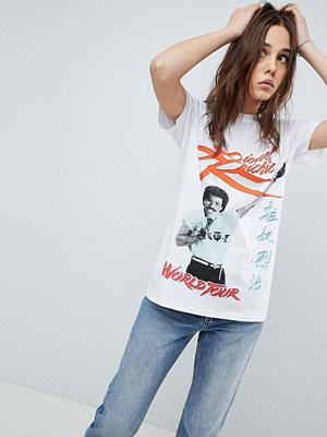 ASOS DESIGN T-shirt med Lionel Richie tryck