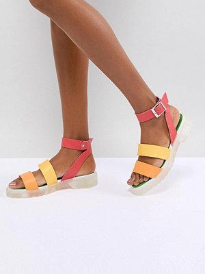 ASOS DESIGN Fuma Chunky Gladiator Sandals