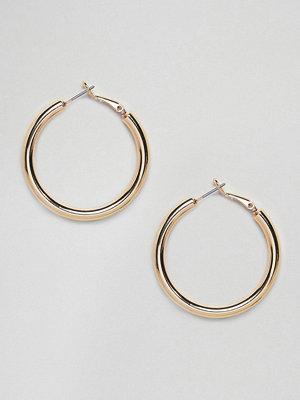 Pieces örhängen Chunky Hoop Earrings
